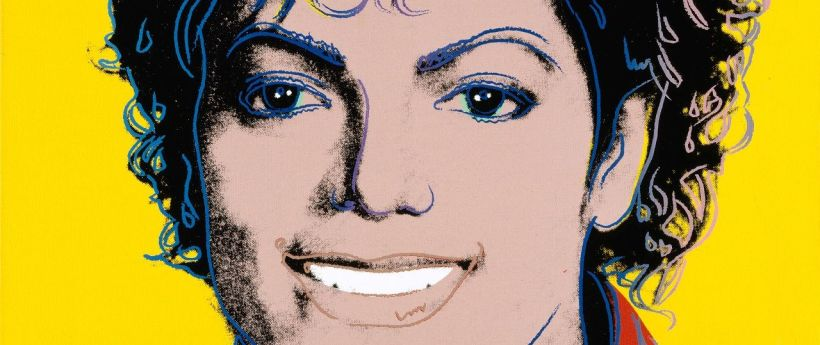 Michael Jackson by Andy Warhol